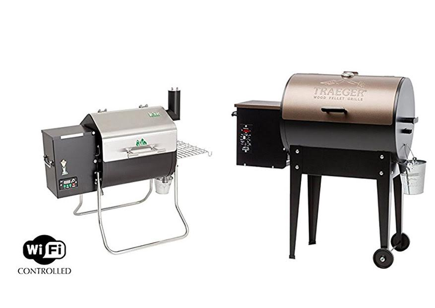 Green Mountain Grills vs. Traeger