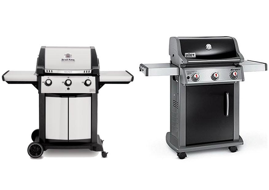 broil king signet 320 vs weber spirit e 310. Black Bedroom Furniture Sets. Home Design Ideas