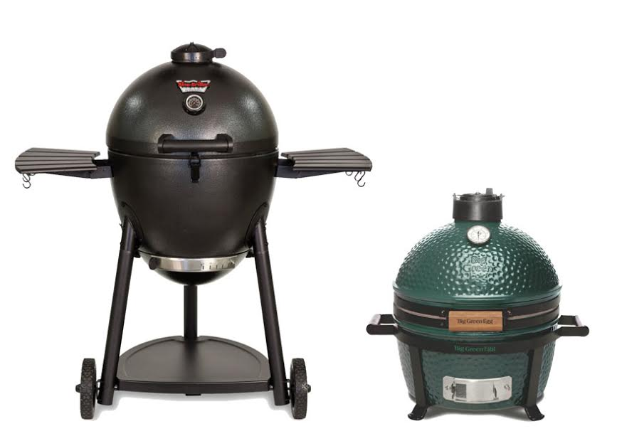 char griller akorn vs green egg. Black Bedroom Furniture Sets. Home Design Ideas