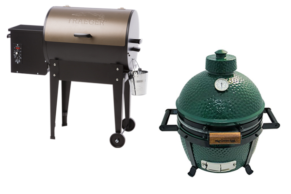 Traeger Grill vs Green Egg