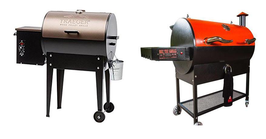 Traeger Grill vs Rec Tec