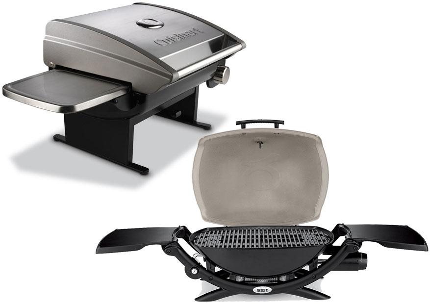 Cuisinart CGG 200 vs Weber Q2200